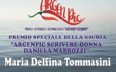 """ArgenPic 2017 – A Maria Delfina Tommasini Il Premio Speciale della Giuria """"Scrivere Donna Daniela Marrozzi"""""""